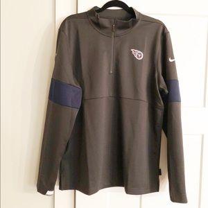 Tennessee Titans LS Nike Dri Fit Quarter Zip